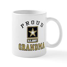 Proud U.S. Army Grandma Small Mug