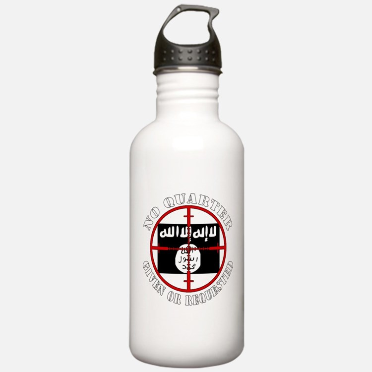 ISIS in our sights, No Quarter Water Bottle