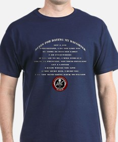 Dads Against Daughters Dating Rules T-Shirt
