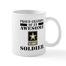Proud U.S. Army Grandpa Small Mug