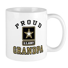 Proud U.S. Army Grandpa Small Mug
