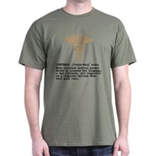 Corpsman definition brown T-Shirt