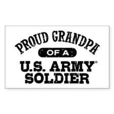 Proud U.S. Army Grandpa Decal
