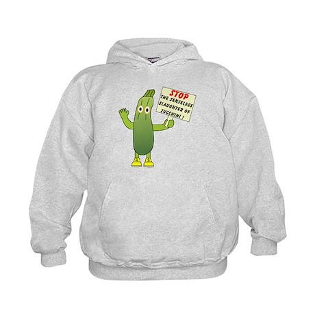 Save Zucchini Kids Hoodie