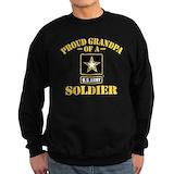 Army grandpa Sweatshirt (dark)