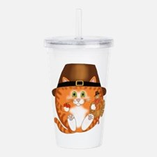 Bauble Cat Acrylic Double-Wall Tumbler