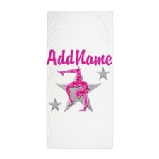 GORGEOUS GYMNAST Beach Towel