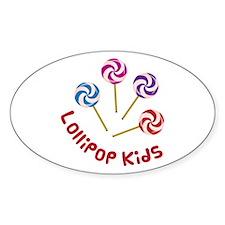 Lollipop Kids Decal