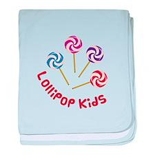 Lollipop Kids baby blanket