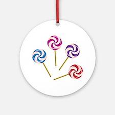 Lollipops Ornament (Round)