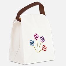 Lollipops Canvas Lunch Bag