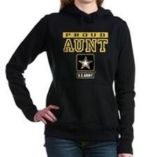 Proud Aunt U.S. Army Women's Hooded Sweatshirt