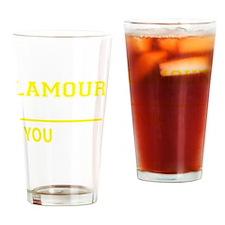 Unique L'amour Drinking Glass
