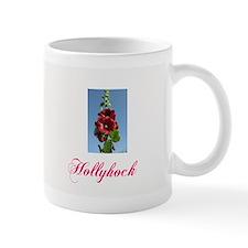 """Hollyhock"" -  Small Mug"