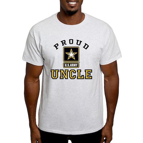 Proud U.S. Army Uncle Light T-Shirt