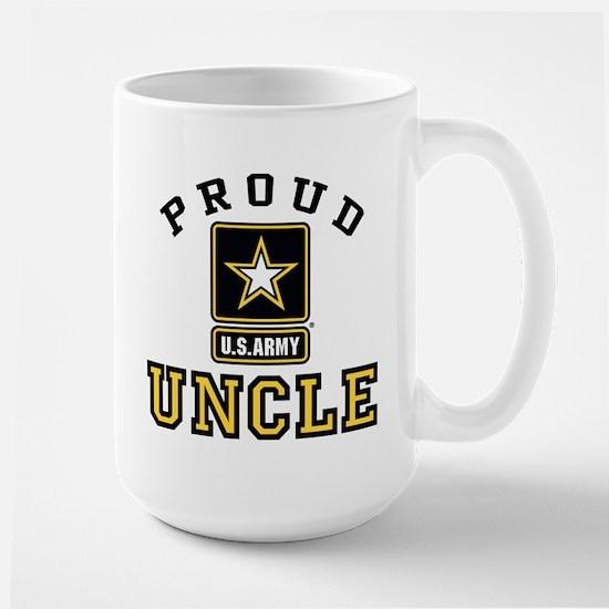 Proud U.S. Army Uncle Large Mug