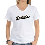 Asshole Women's V-Neck T-Shirt