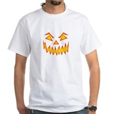 Evil Jack O Lantern Face T-Shirt