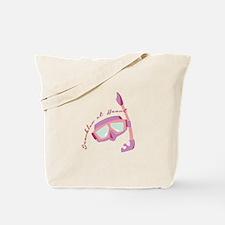 Snorkler at Heart Tote Bag