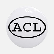 ACL Oval Ornament (Round)