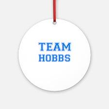 TEAM HOBBS Ornament (Round)