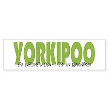 Yorkipoo ADVENTURE Bumper Bumper Stickers