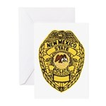 New Mexico State Police Greeting Cards (Package of