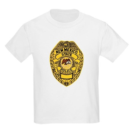 New Mexico State Police Kids Light T-Shirt