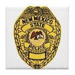 New Mexico State Police Tile Coaster