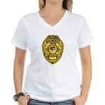 New Mexico State Police Women's V-Neck T-Shirt