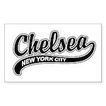 Chelsea New York City Rectangle Sticker