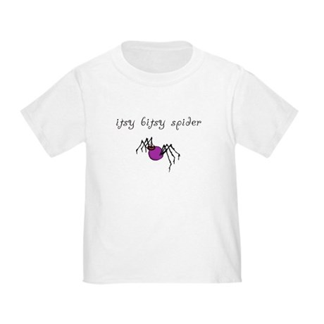 Itsy Bitsy Spider Toddler Tee