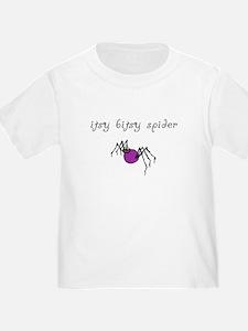 Itsy Bitsy Spider Toddler Tee