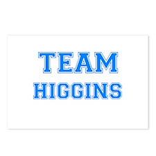 TEAM HIGGINS Postcards (Package of 8)
