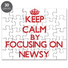 Keep Calm by focusing on Newsy Puzzle