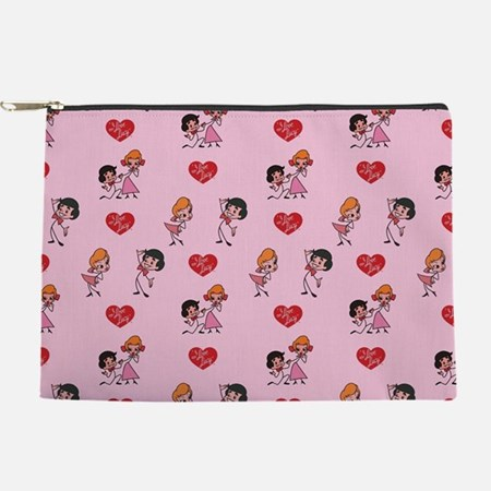 I Love Lucy: Pattern Makeup Bag
