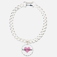 Pink Heart And Bracelet