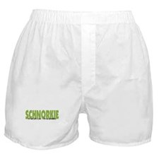 Schnorkie IT'S AN ADVENTURE Boxer Shorts