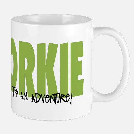 Schnorkie IT'S AN ADVENTURE Mug