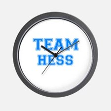 TEAM HESS Wall Clock