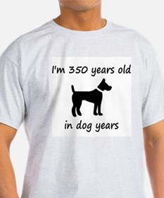50 dog years black dog 1 T-Shirt