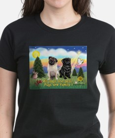 Pugs are Family (2) Tee