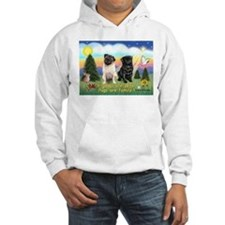 Pugs are Family (2) Hoodie