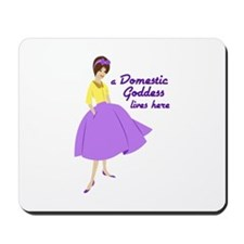 Domestic Goddess Mousepad