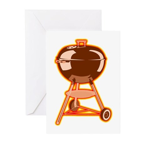 Hot Grill Greeting Cards (Pk of 10)