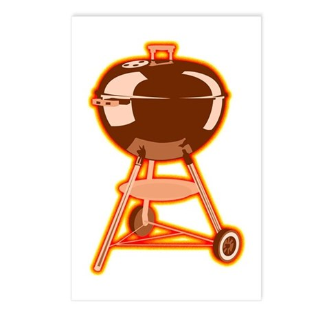Hot Grill Postcards (Package of 8)