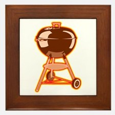 Hot Grill Framed Tile