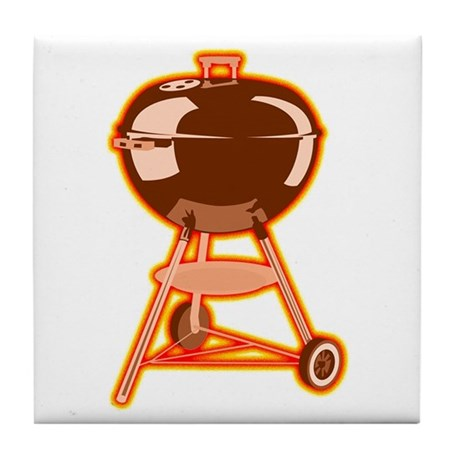 Hot Grill Tile Coaster