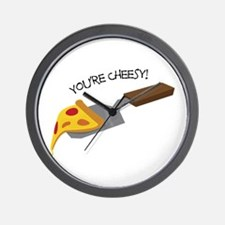 You're Cheesy! Wall Clock
