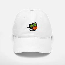 Cute Black Cat with pumpkin Baseball Baseball Baseball Cap